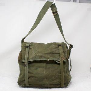 Other - Green Military Canvas Shoulder Bag